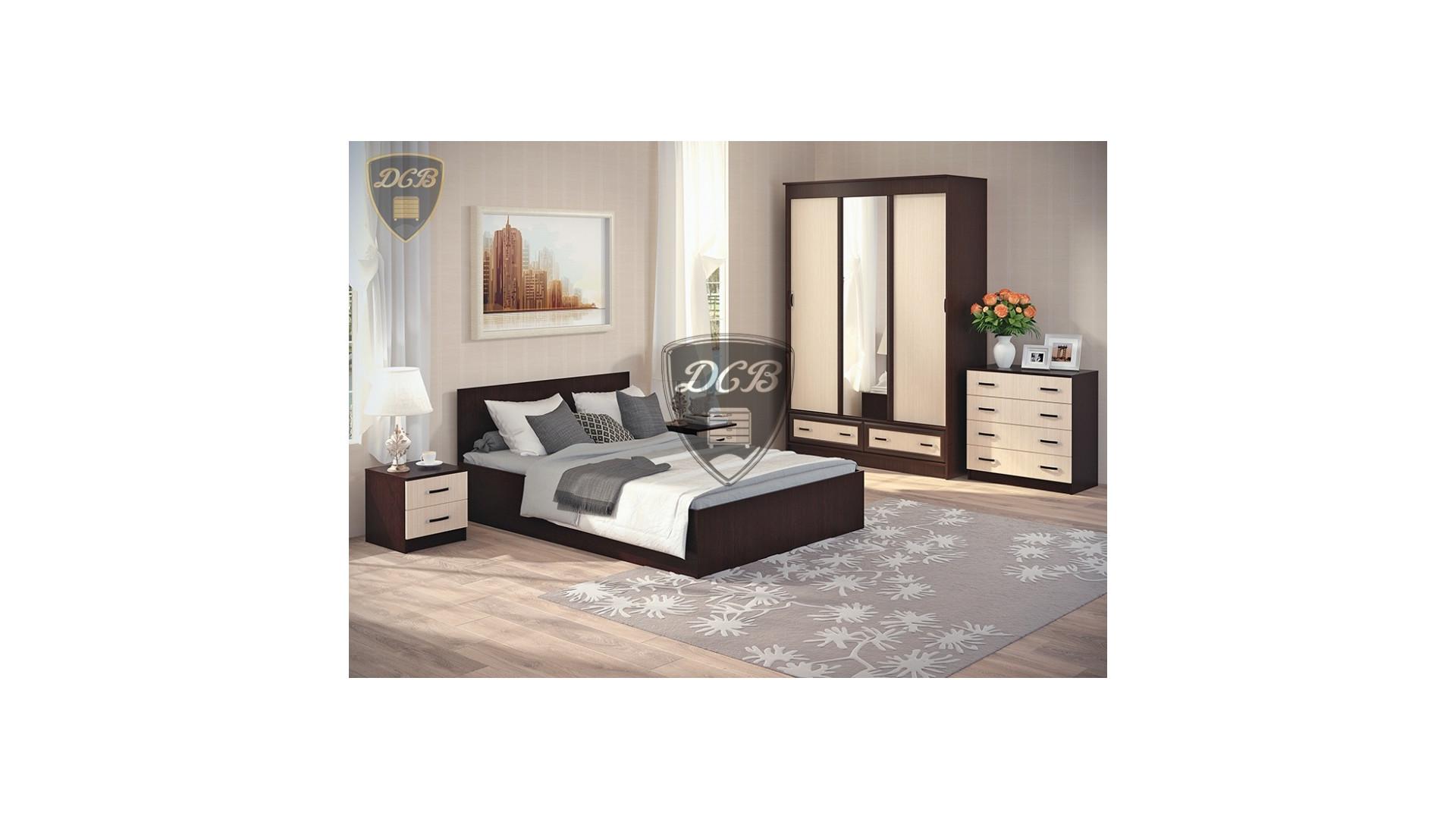 Комплект спальни  Ронда вариант 3