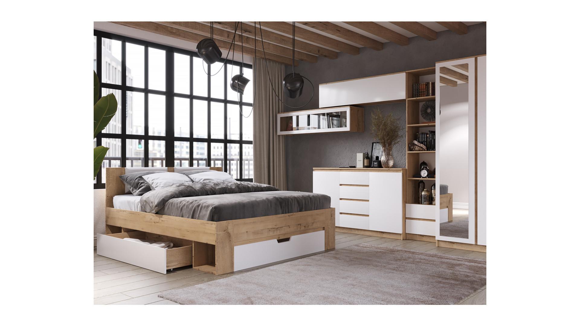 Модульная спальня Марли вариант 1