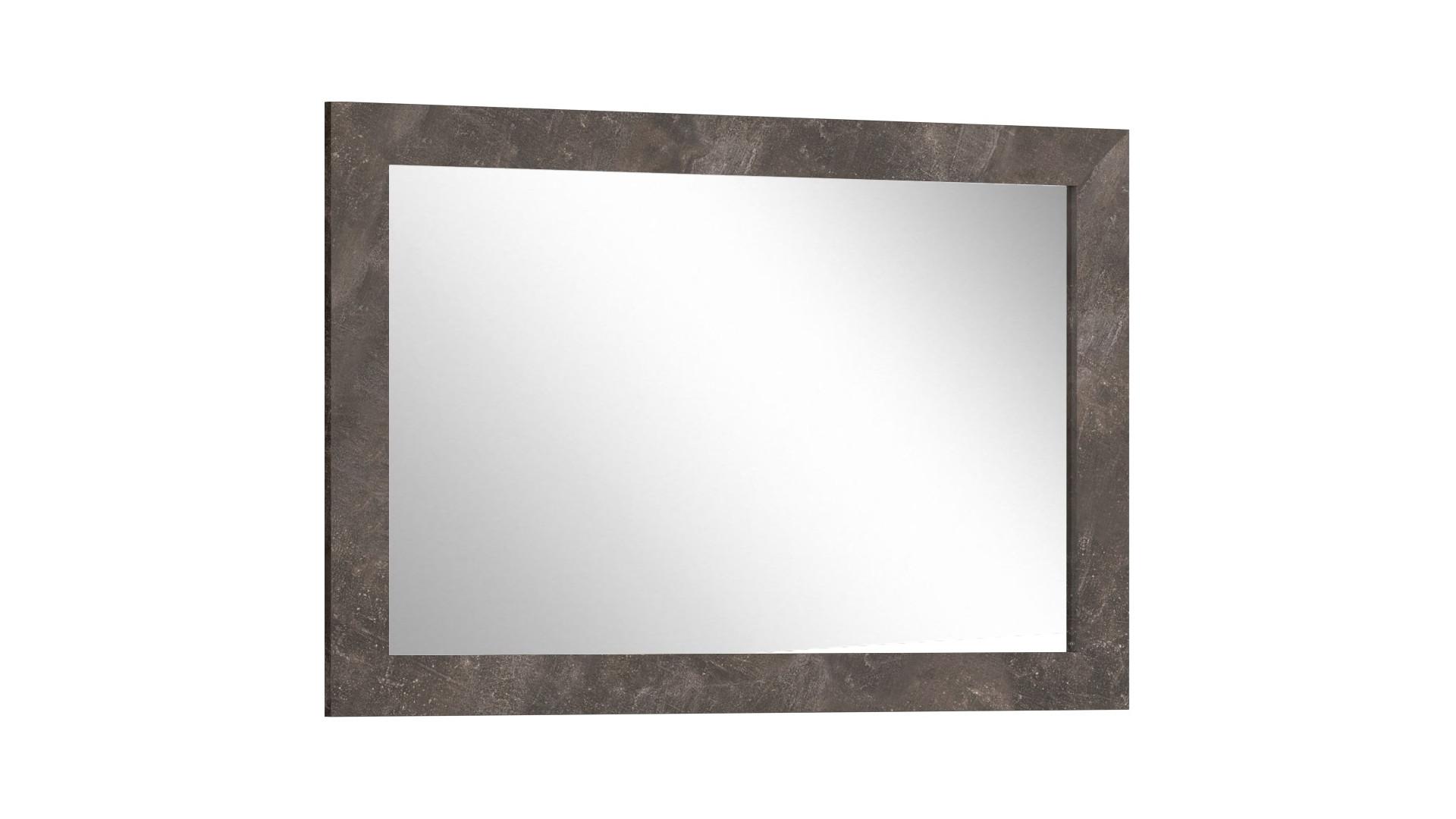 Зеркало к комоду Прага  Дуб Белый Крафт/Ателье Темное