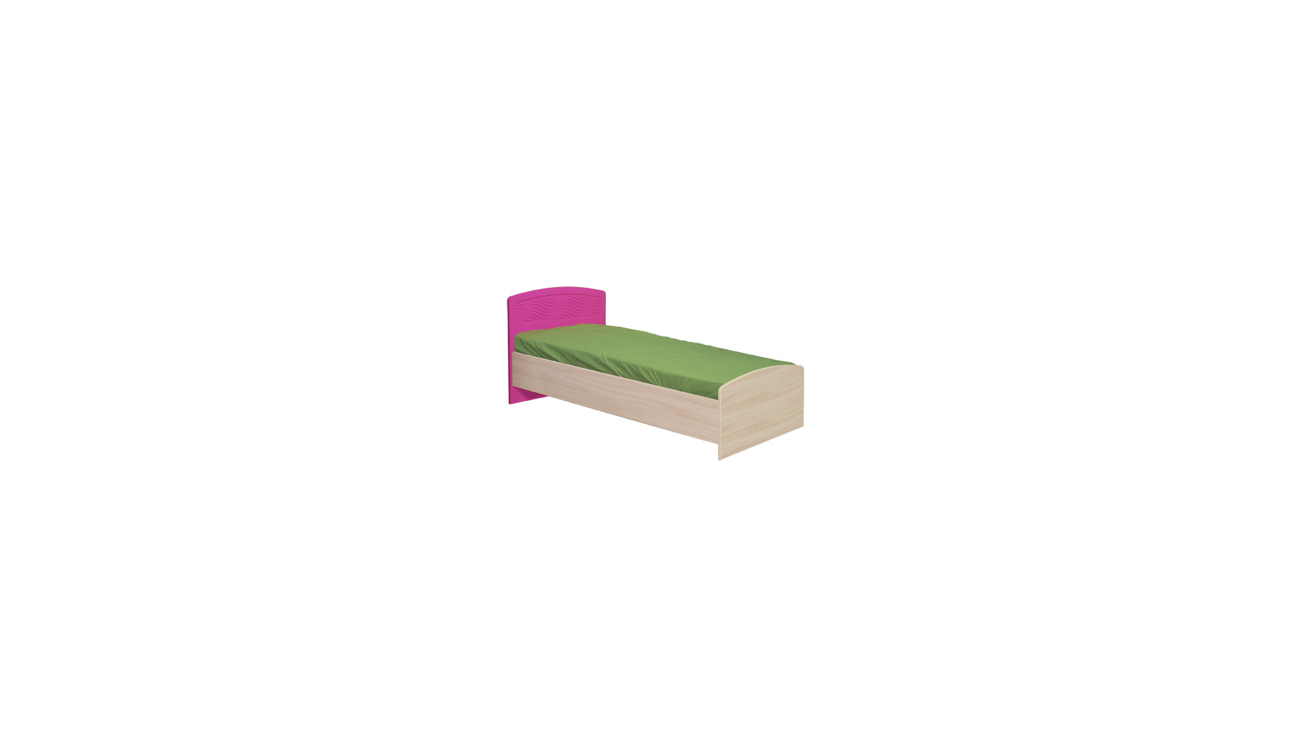 Кровать 0.8 №9 (с основанием)