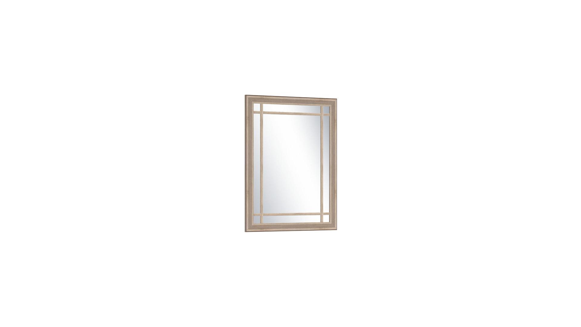 Зеркало большое  Бруно Дуб Сонома/Дуб Сонома Светлый