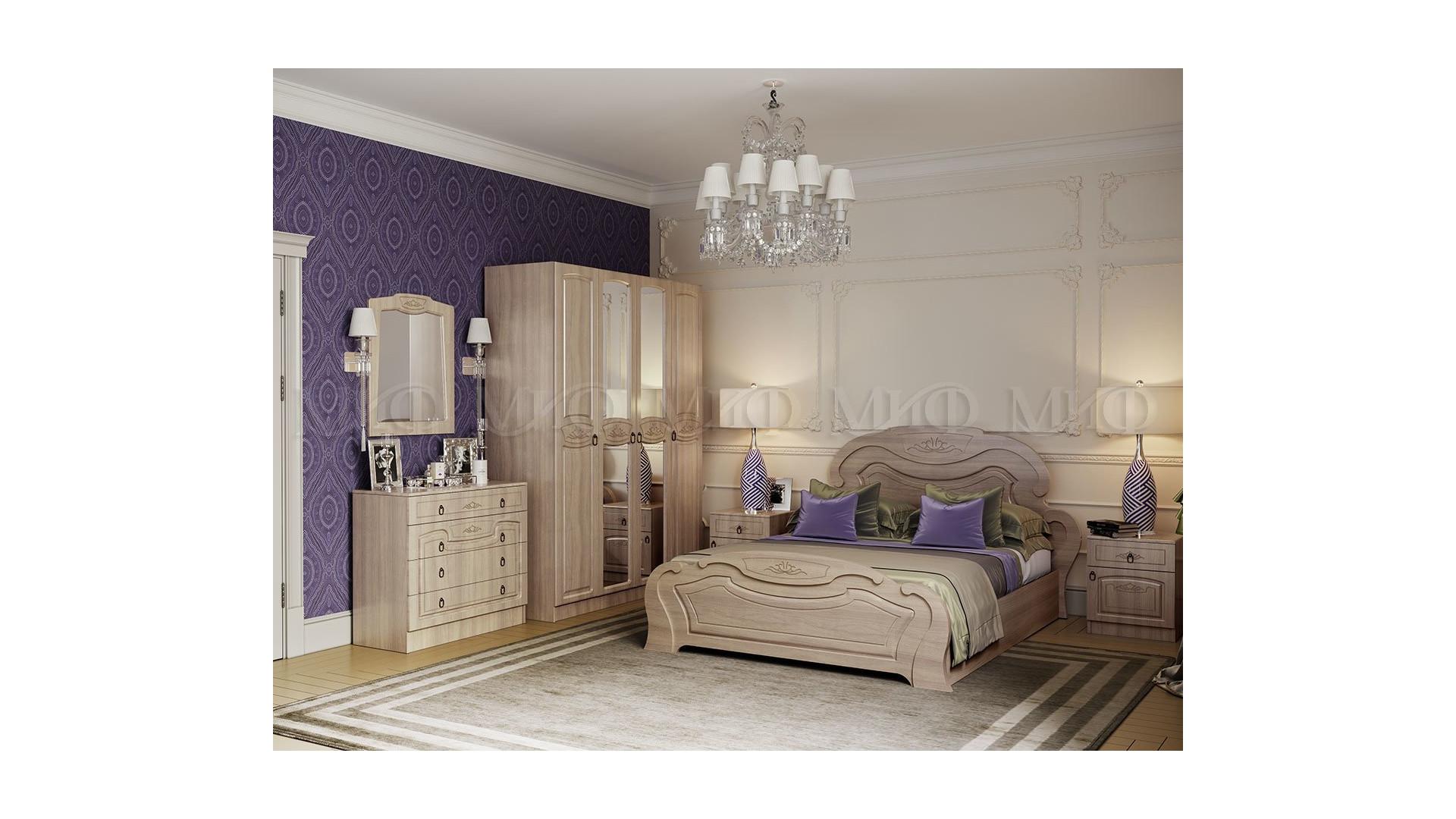 Модульная спальня Александрина